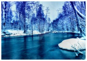 blue river .. by KariLiimatainen