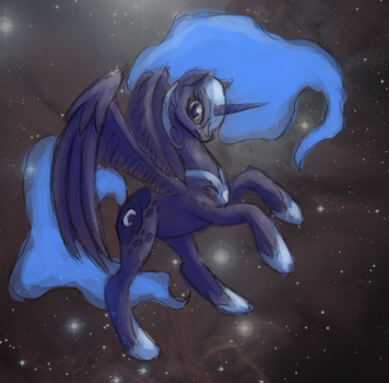 Nightmare Moon by Vabla