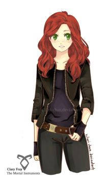 Clary Fray - The Mortal Instruments by kilari-chan