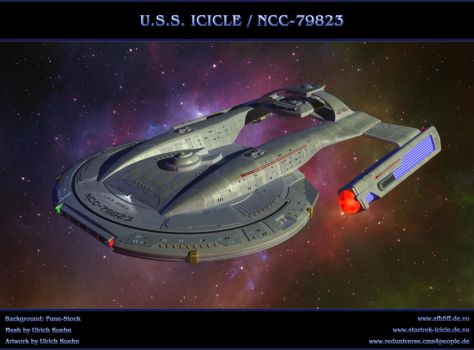STAR TREK - USS ICICLE / NCC-79823 by ulimann644
