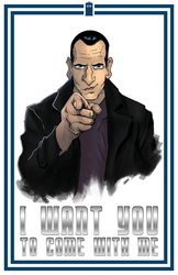 I Want You... 9th Doctor by jUANy