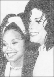 Michael and Janet Jackson '93 by cartmanfan