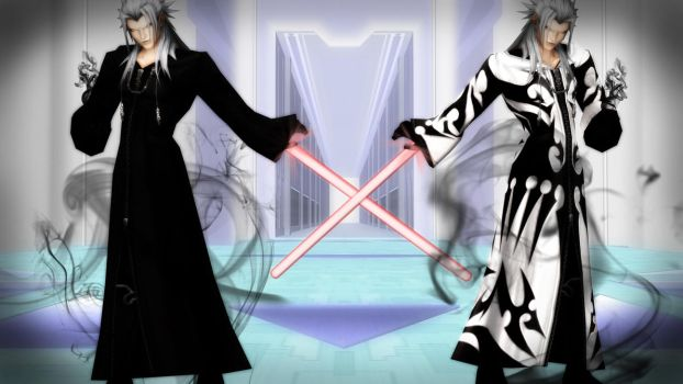 Xemnas Update [XPS] by LexaKiness
