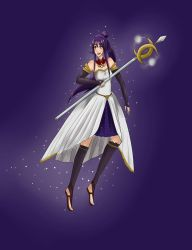 Kid Icarus Uprising OC- Andromeda (remake) by Starfruity2009