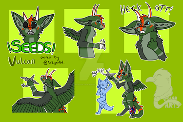 Telegram Stickers | Vulcan by trenchcoats-and-pie