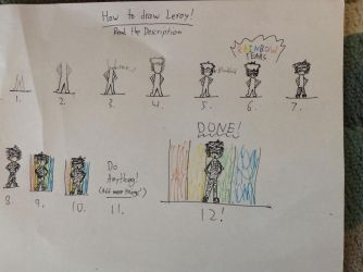 How to draw Leroy! by Gamerbroz47