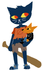 Mae and Gregg by Ghost-Freak
