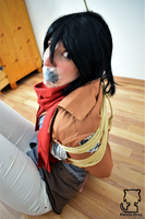 Mikasa in a lot of trouble... 8 by Natsuko-Hiragi