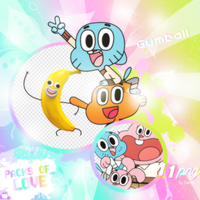 PNG PACK (45) Gumball by DenizBas