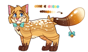 Powdered Churro Sugardae // AUCTION // OPEN by catpaths