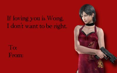 Tacky RE Valentines-Ada Wong by Isobel-Theroux