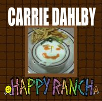 Carrie Dahlby - Happy Ranch album cover by artbylukeski