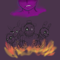 [FNAF][WIP maybe?] I hope you die in a fire by Cinderbutt