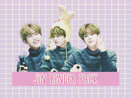 Pack PNG #115 Jin by XieraaaPark