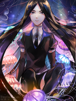 Bortz and Jellyfish by Panther-fam