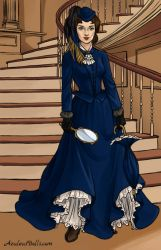 Southern-Belle-Shirley Stoneheart by Disneycow82
