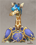 Sir Geoffrey the Giraffe by raizy