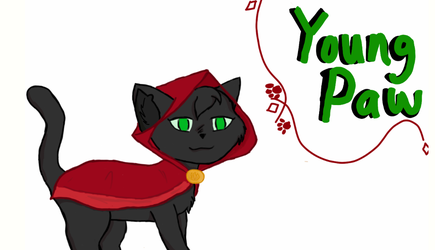 Youngpaw the Mage by Savvyhorse56
