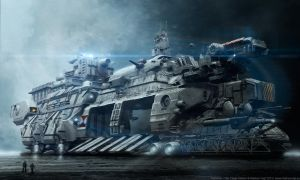 Hyperion - The Cargo Station by MarkusVogt