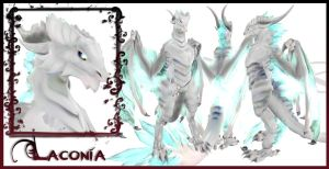 Laconia Dragon Form Character Sheet by EmilyCammisa