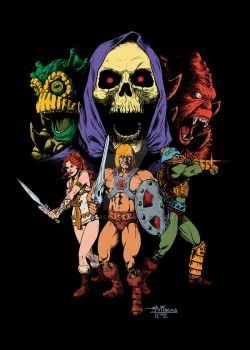 He-Man and the Masters of the Universe by mvitacca