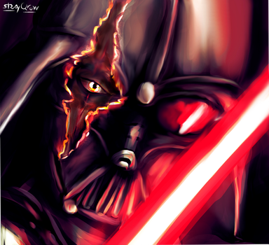 Darth Vader by StrayQrow