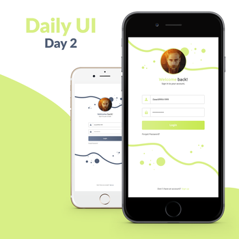 Daily UI Challenge - Day 2 by FanBarcelony