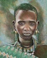 African woman by dezz1977