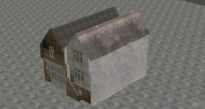 XNALARA XPS Model Release!! Medieval House 3 by Fuzzy-Moose