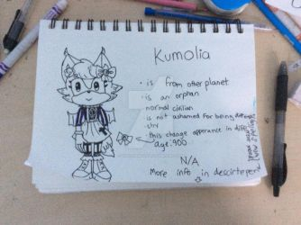 Kumolia (unfinished) by Vxnillabean