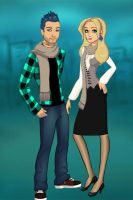 The Next Generation: Teddy and Victoire by GedweyKona
