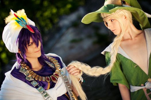 How about you join me? - Magi by KashinoRei