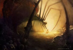 Spidermother by Vaejoun