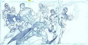 DC Spread WIP by JazzRy