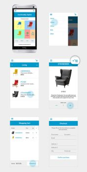 Comfortably Stylish Android Mobile App by ChubbaART