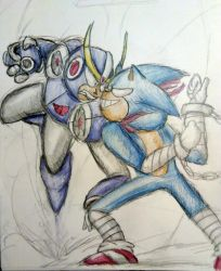 Sonic vs Ballade: My journey starts here by shadowmanwily