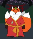 Fox Spirit for the foxyverse by PudgeyRedFox