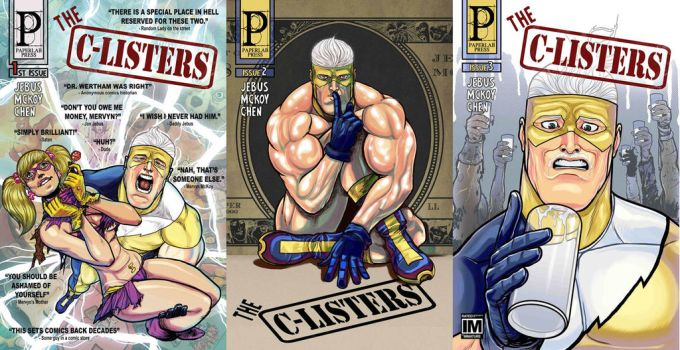 The C-Listers Saga by paperlab
