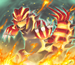 Pokemon : Primal Groudon by R-nowong