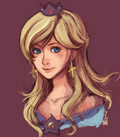 Rosalina sketch by Renuski