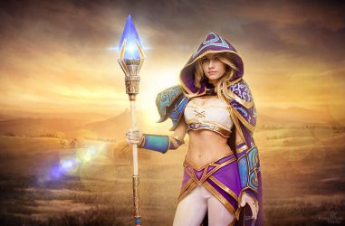Warcraft III - Jaina Proudmoore cosplay by Narga-Lifestream
