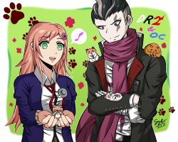 Kaname and Gundham [REQUEST] by GyleToTheRescue