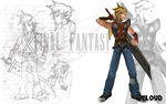 Final Fantasy VII EX - Cloud by 2PlayerWins