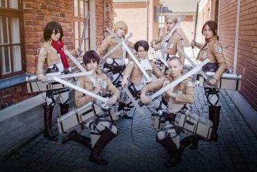 SNK - Attention troops by Bitenshi
