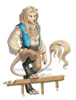 Lion of the High Seas by KatieHofgard