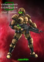 GDI Commando by DrMostafaMortaja