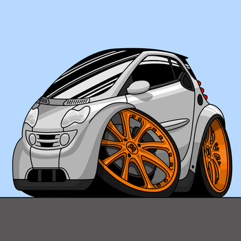 Smart Fortwo (W450) by I-W-E