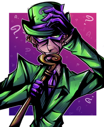 Riddle Me This by BubblegumBloo