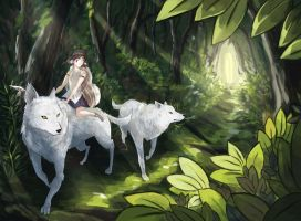 Princess Mononoke by Astrovique