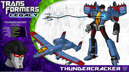 Transformers Legacy: Thundercracker by CyRaptor